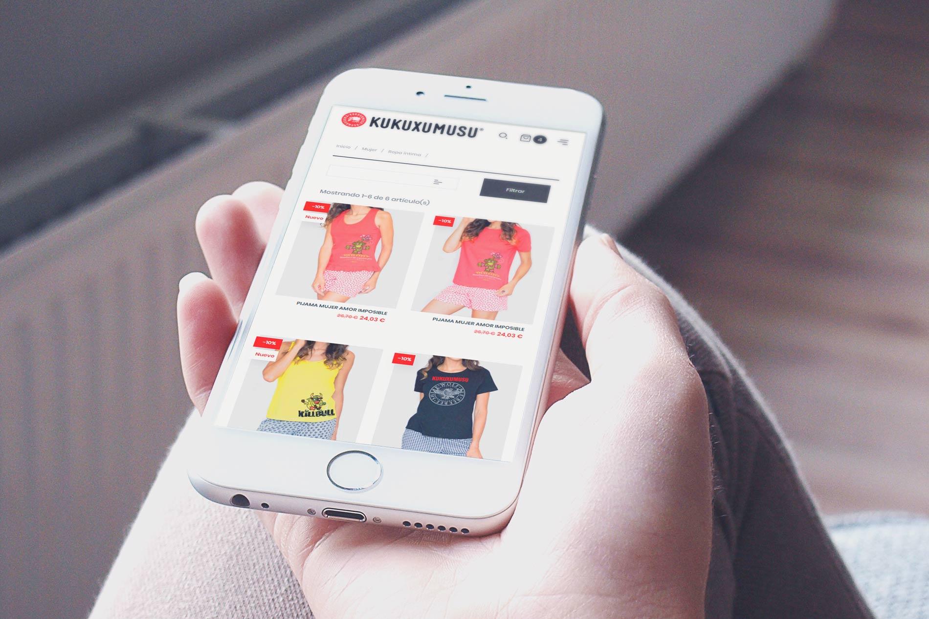 Kukuxumusu tienda online
